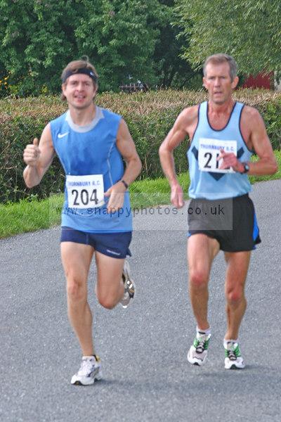 bib204 Thornbury Running Club - Oldbury 10 Jeff Arthur