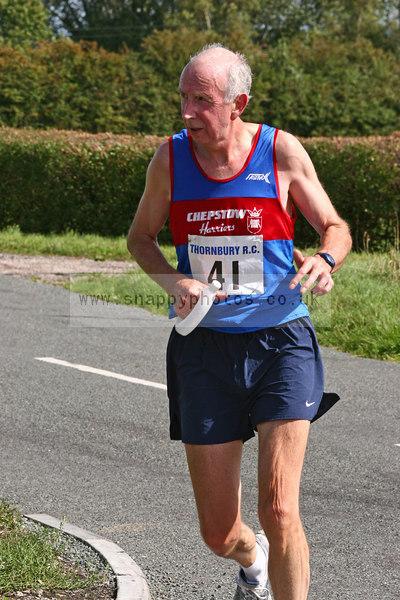 bib41 Thornbury Running Club - Oldbury 10 Jeff Arthur