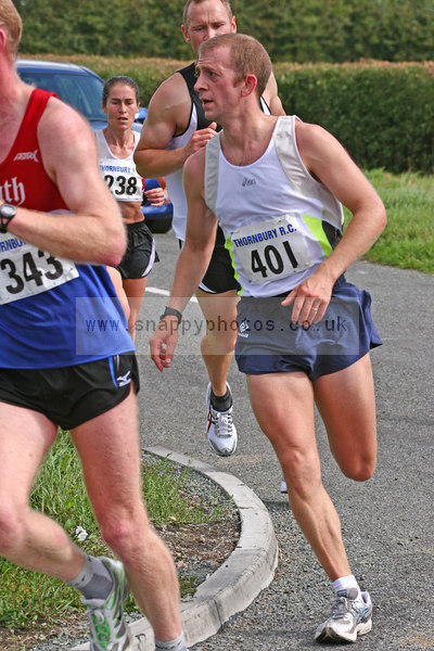 bib401 Thornbury Running Club - Oldbury 10 Jeff Arthur