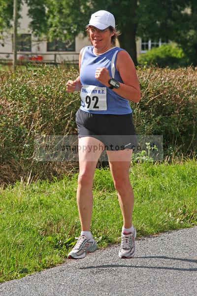 bib92 Thornbury Running Club - Oldbury 10 Jeff Arthur