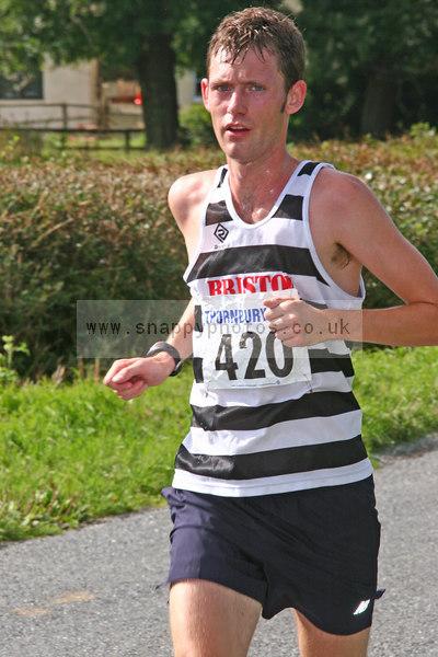bib420 Thornbury Running Club - Oldbury 10 Jeff Arthur