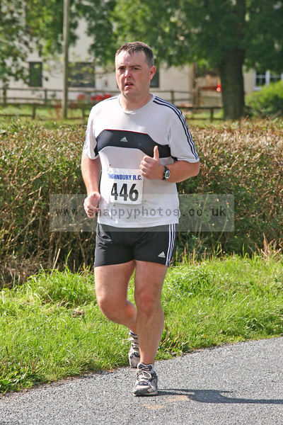 bib446 Thornbury Running Club - Oldbury 10 Jeff Arthur