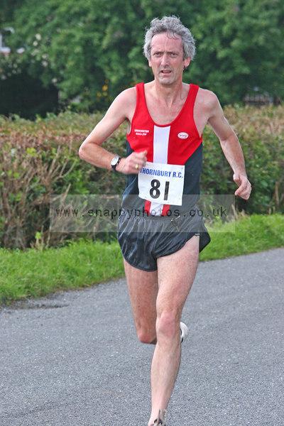 bib81 Thornbury Running Club - Oldbury 10 Jeff Arthur