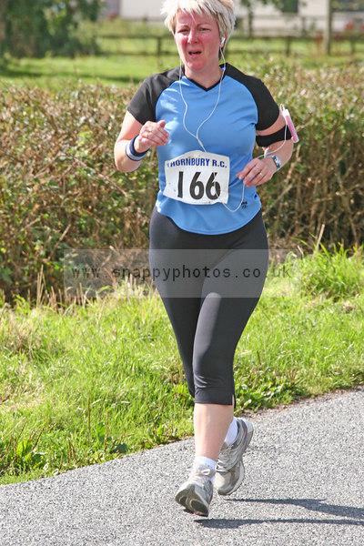 bib166 Thornbury Running Club - Oldbury 10 Jeff Arthur