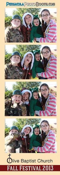 Olive Baptist Church Fall Festival 10-26-2013