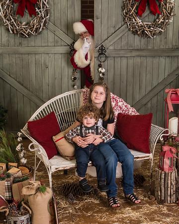 Olivier A Visit with Santa