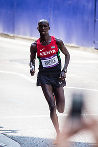 The bronze-winning Kiprotich