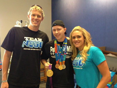 Olympic gold medalists deliver Joy in Baltimore