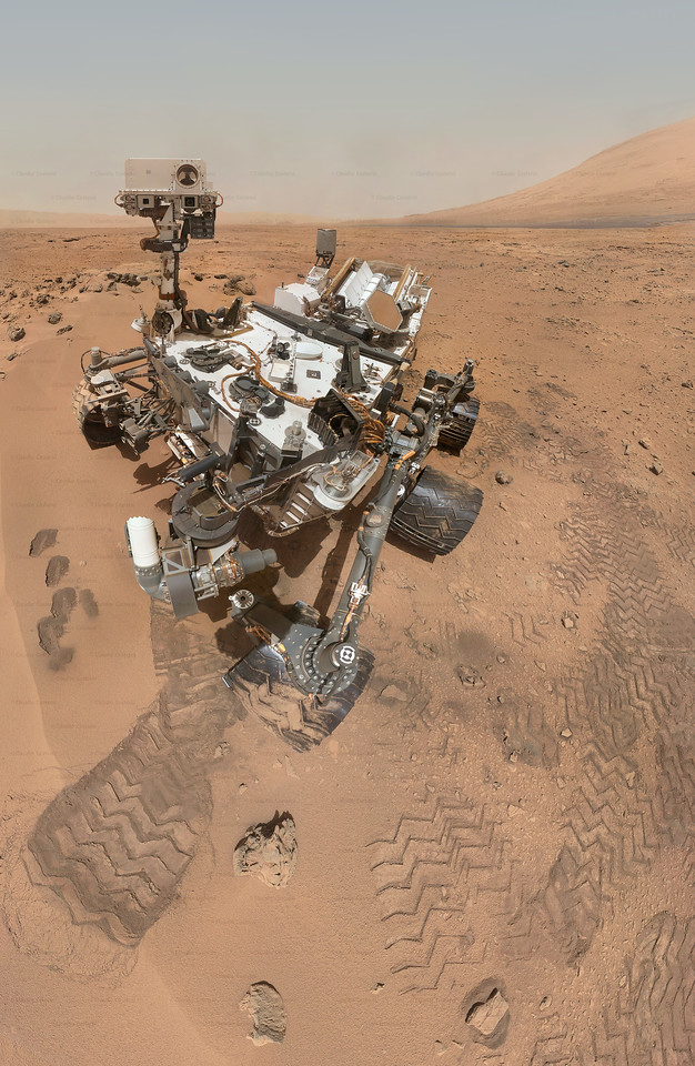 Curiosity on Mars, taken with MAHLI camera - Sol 84 and 85 - October 31 and November 1, 2012