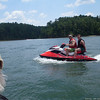 Matt and Alex on my Jet Ski