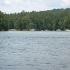 Lake Allatoona again. This is the cove where we hung out for a while. It's nice and calm and secluded, better than dropping anchor in open water.