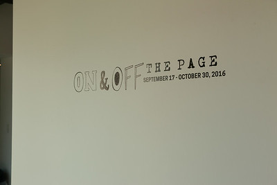 On and Off the Page