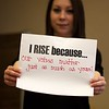 UAlbany 'One Billion Rising' event raises awareness for violence against women. (Photos by Erin Nagy)