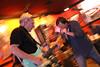 Mike and John gettin down at Smokin Spokes  copyrt 2014 m burgess