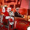 Santa drive by!
