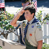 Pledge of Allegiance by Eagle Scout Evan Haglund