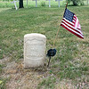 Record-Eagle/Loraine Anderson<br /> George Askebug, who served with the all-Indian Co. K in the 1st Michigan Sharpshooters during the Civil War, is buried at the Ononimese cemetery. Most of the graves there are unidentified and marked with white crosses.