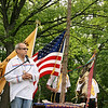 The Rev. Mike Peters, a Christian minister who practices a 4 Fires ministry in Grand Rapids, conducted a traditional re-dedication ceremony for Onominese Indian Cemetery in Leelanau County on Memorial Day.
