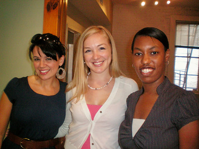 WOC Staff (from left to right): Erin Saiz Hanna, Aisha Taylor, Clarissa Mendez