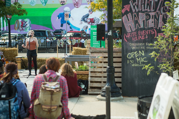 Open Mic in the Spark Park