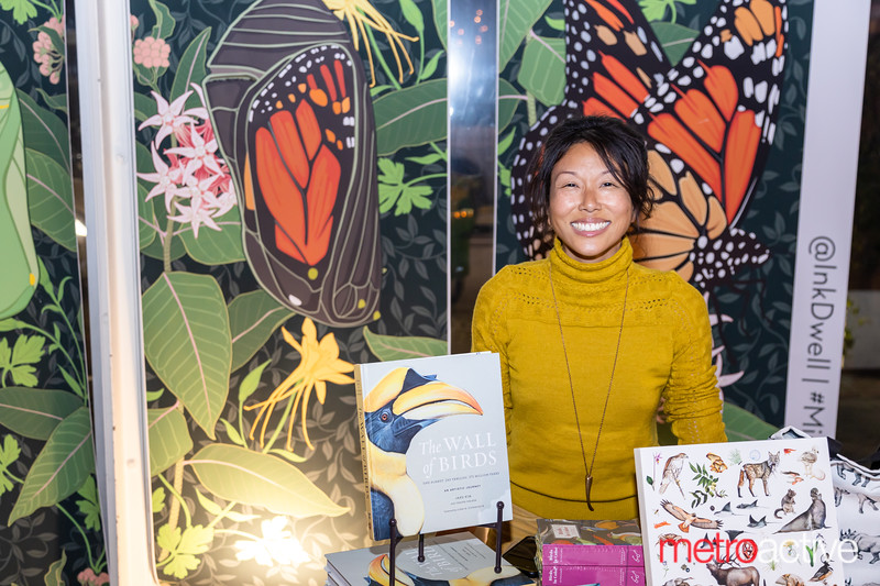 Muralist Jane Kim of Ink Dwell