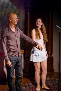 Rahim Quazi with Rachel Hullett