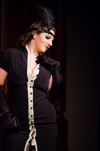 Tequila Mockingbird - Bedazzles and teases! Open Stage 120716 0483