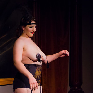 Tequila Mockingbird - Bedazzles and teases! Open Stage 120716 0540