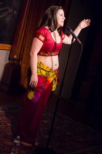 Molly Midori - On Bellydance Underwear... Open Stage 120910 0108