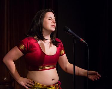 Molly Midori - On Bellydance Underwear... Open Stage 120910 0117
