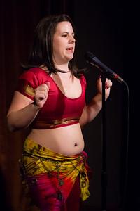Molly Midori - On Bellydance Underwear... Open Stage 120910 0122