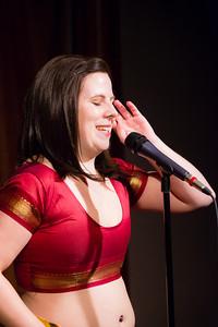Molly Midori - On Bellydance Underwear... Open Stage 120910 0098