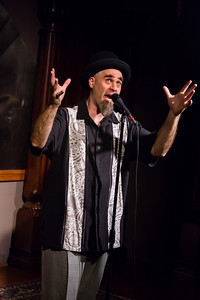 Russ Gesticulates Masterfully Open Stage 121217 0071