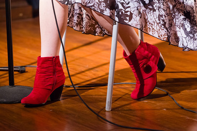 Kristin's Shoes - They were much remarked upon Open Stage 121217 0871