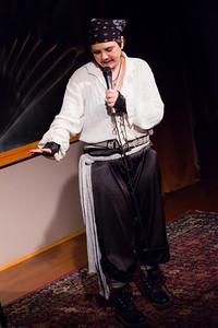 Moon the Pirate on strong women of history: Sharing love makes history Open Stage 130304 0360