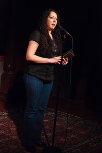 """Angelika: """"The greatest measure of our grief describes the equal measure of our love"""" Open Stage 130408 0171"""