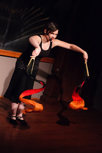 Carrie - Death and Life: Poetry by Mom, and by Daughter Open Stage 130520 0257