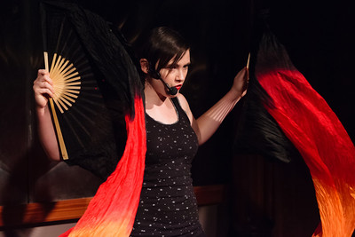 Carrie - Death and Life: Poetry by Mom, and by Daughter Open Stage 130520 0271