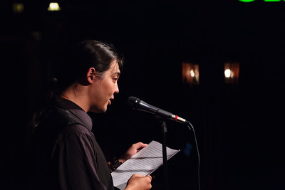 The Hawaiian - A Reading from a Novel in Progress Open Stage 130610 0201