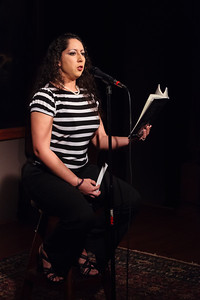 Angelica - Select Poems (from her NEW book!) Open Stage 130610 0297