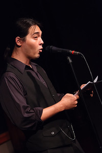 The Hawaiian - A Reading from a Novel in Progress Open Stage 130610 0178