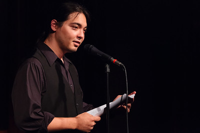 The Hawaiian - A Reading from a Novel in Progress Open Stage 130610 0186
