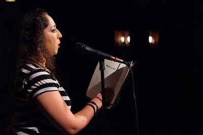 Angelica - Select Poems (from her NEW book!) Open Stage 130610 0313