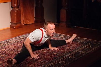 Open Stage 130722 0156 Scott Renkes with awe-inspiring feats of interpretive handstanding  Open Stage 130722 0156