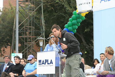 AIDS Walk Los Angeles  Kimberly McCullough, General Hospital  Jason Thompson, General Hospital