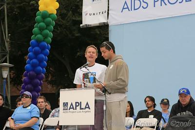AIDS Walk Los Angeles   Carson Kressley, Queer Eye for the Straight Guy  Jai Rodriguez, Queer Eye for the Straight Guy, Celebrity Duets