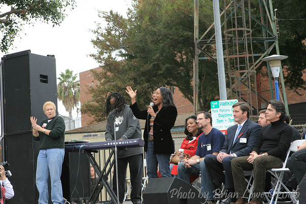 AIDS Walk Los Angeles  Stephanie Mills, Grammy winning recording artist