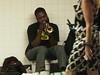 Trumpet Player in Penn  Station<br /> photo by Rob Rich/SocietyAllure.com © 2012 robwayne1@aol.com 516-676-3939