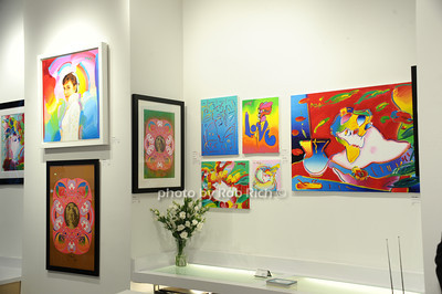Peter Max artwork photo by Rob Rich/SocietyAllure.com © 2013 robwayne1@aol.com 516-676-3939