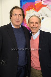Larry Moskowitz, Peter Max photo by Rob Rich/SocietyAllure.com © 2013 robwayne1@aol.com 516-676-3939